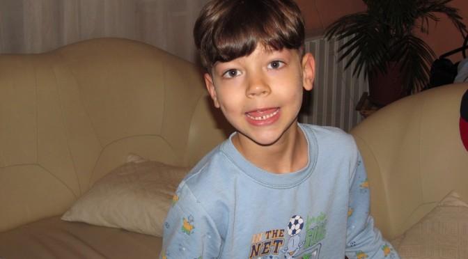 Balázs 6 éves
