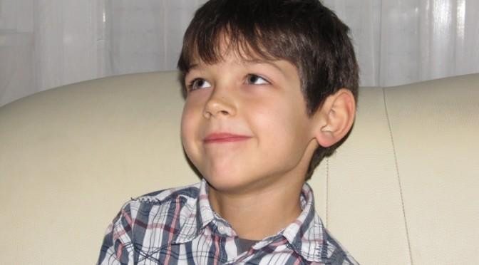 Peti 7 éves